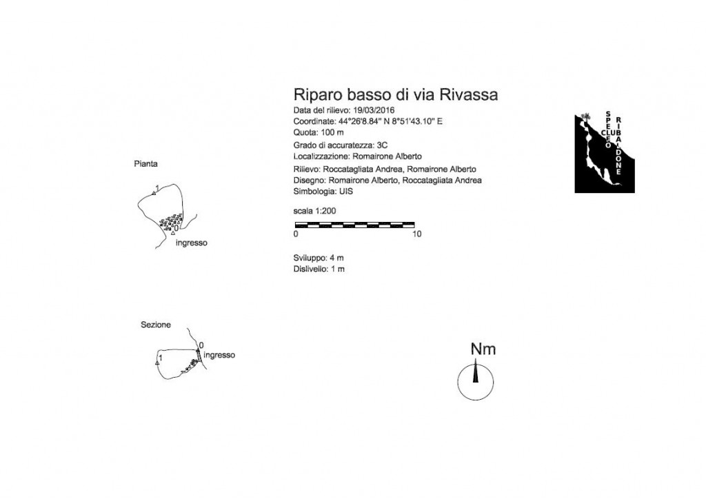 Riparo basso di via Rivassa