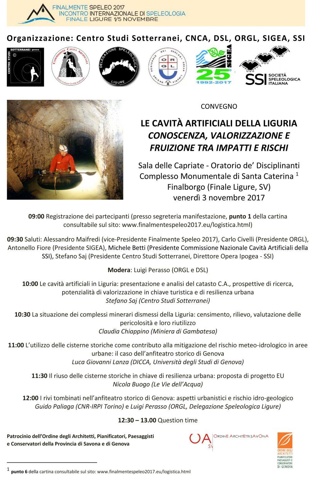 Locandina Convegno 3.11.2017