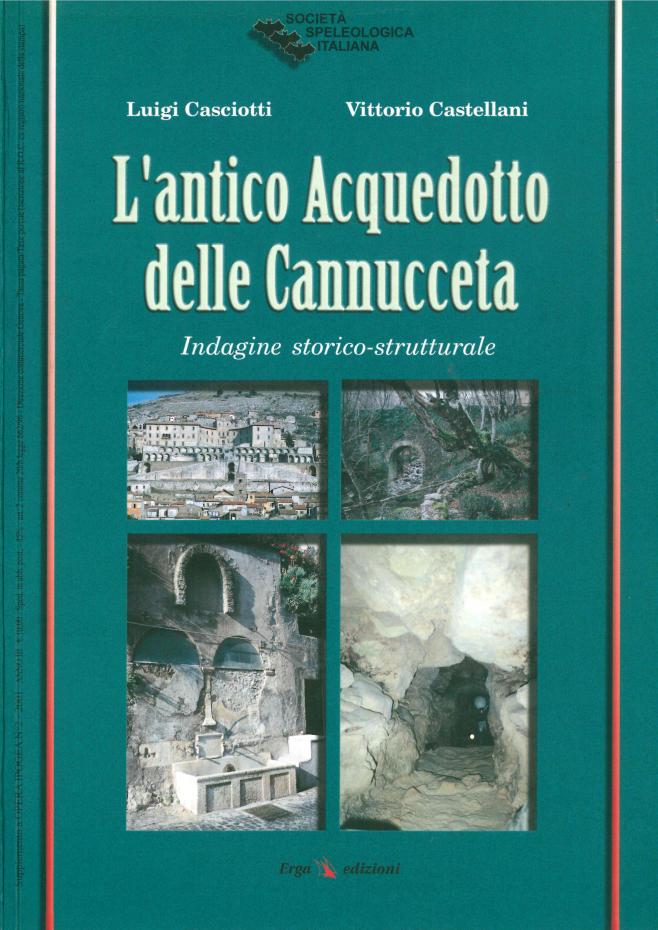 L'ANTICO ACQUEDOTTO DELLE CANNUCCETA